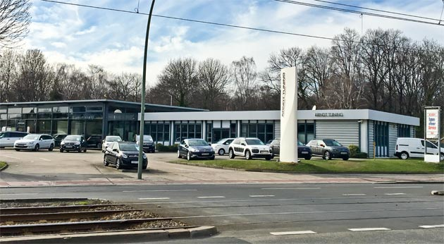 Firmengelände Arndt tuning Berlin GmbH